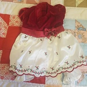 Dresses & Skirts - Silky and velvet dog dress small